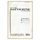 New York Mattachine newsletter (octobre 1964) - image/jpeg
